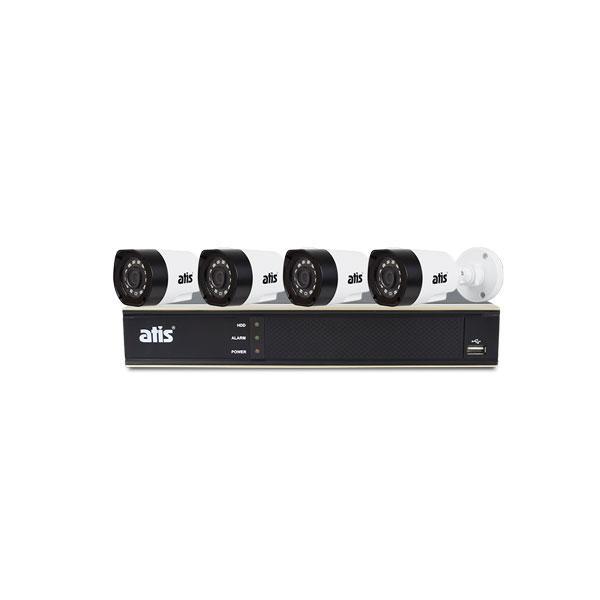 Комплект відеоспостереження, ATIS kit 4ext 2MP