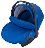 Автокресло Adamex Kite кожа 100% Y220 темно-синий перламутр