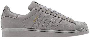 Мужские кроссовки Adidas Superstar 80s Berlin в сером цвете
