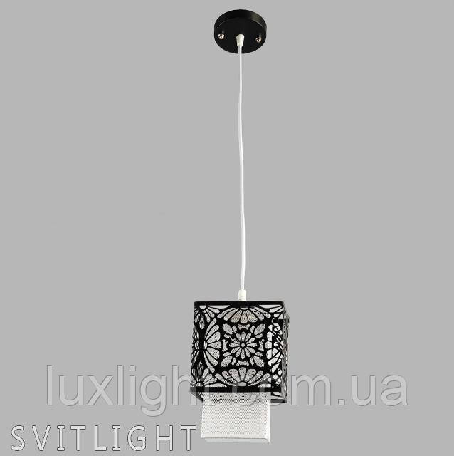 Люстра подвесная на 1 лампочку 5-31194/1 BK N Svitlight. Подвесной светильник украсит интерьер прихожей, кухни