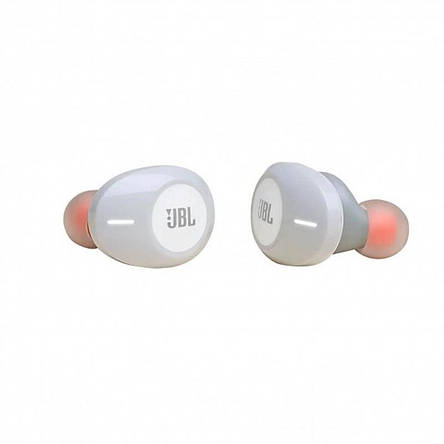 Bluetooth-гарнітура JBL T120TWS White (JBLT120TWSWHT), фото 2