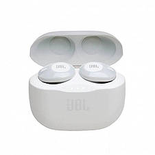 Bluetooth-гарнітура JBL T120TWS White (JBLT120TWSWHT), фото 3