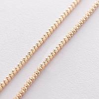 Золотая шариковая цепочка