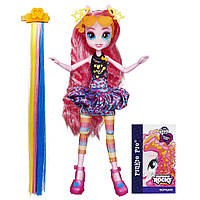 My Little Pony Equestria Girls Rainbow Rocks Pinkie Pie Rockin' Hairstyle