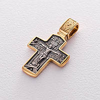 """Православный крест GS """"Распятие Христово. Деисус"""""""