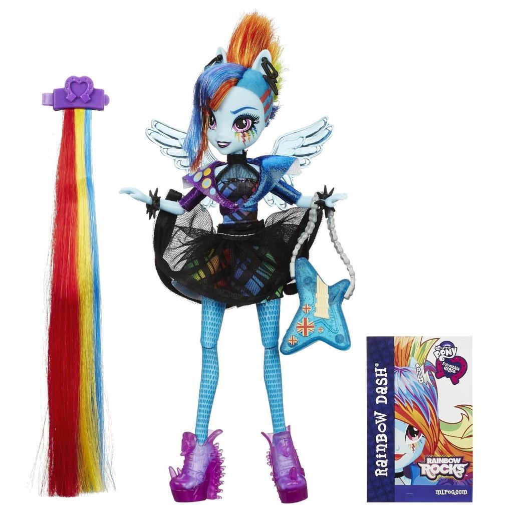 My Little Pony Equestria Girls Rainbow Rocks Rainbow Dash Rockin' Hairstyle