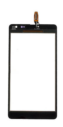 Сенсор (тачскрин) Microsoft (Nokia) Lumia 535 Dual Sim (CT2C1607FPC-A1-E) черный, фото 2