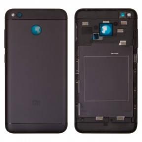 Задняя крышка Xiaomi Redmi 4X черная, фото 2