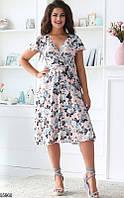 Платье женское летнее легкое супер-софт 48-52.