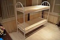 Кровать армейская металлическая двухярусная