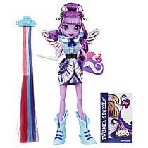 My Little Pony Equestria Girls Rainbow Rocks Twilight Sparkle Rockin Hairstyle