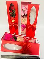 Подарочный Букет Роз Ароматическое Мыло Подарок на День Святого Валентина 8 Марта