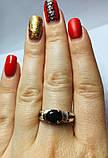 Колечко с золотом в серебре Мелани, фото 4