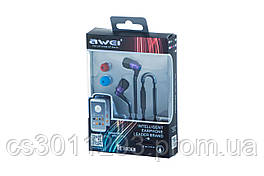 Наушники Awei - TE800i Purple