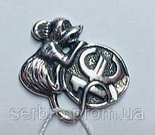 Сувенир Мышонок в серебре