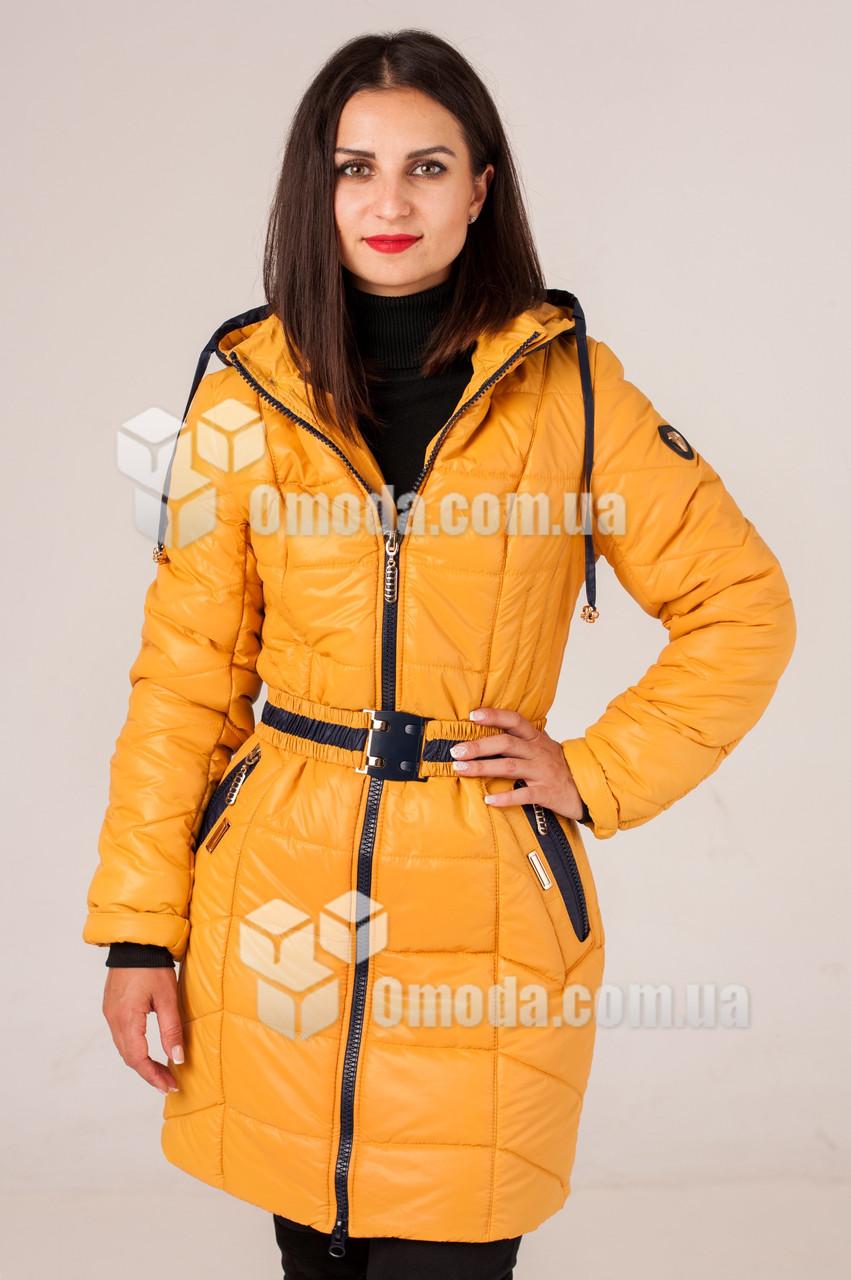 Куртка женская стёганая Морган жёлтая
