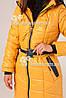 Куртка женская стёганая Морган жёлтая, фото 3