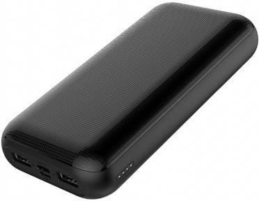 Внешний аккумулятор (Повербанк) Golf G54 20000 mAh Black, фото 2