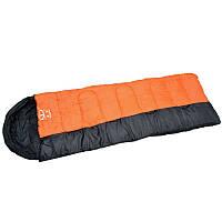 Спальный мешок одеяло с капюшоном (PL,хлопок, 1350г, 190+30х75см, t+10 до -10, мешки соединяются друг с другом) PZ-SY-081