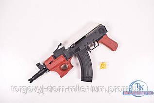 Автомат Калашников пульки в пакете 42/18/ см TS46