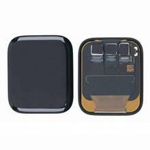 Дисплей Apple Watch 4 44mm с сенсором (тачскрином) черный