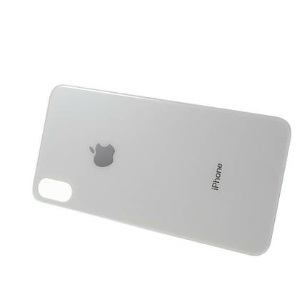 Задняя крышка для Apple iPhone Xs Max белая, фото 2
