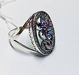 Круглое кольцо с цветочным узором Флоренция, фото 2