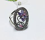 Круглое кольцо с цветочным узором Флоренция, фото 3