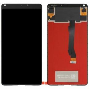 Дисплей Xiaomi Mi Mix 2S з сенсором (тачскрін) чорний