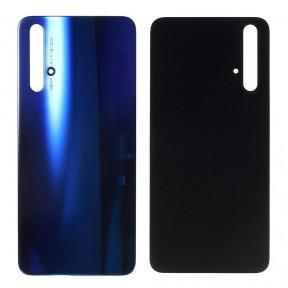 Задняя крышка Huawei Honor 20 (YAL-L21) синяя, Sapphire Blue, Оригинал Китай