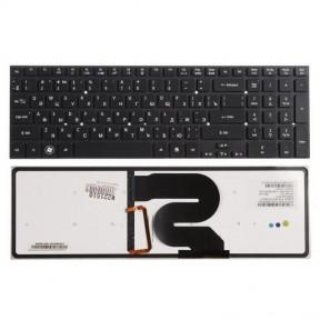 Клавиатура для ноутбука Acer Aspire 8951 (без рамки) с подсветкой черный