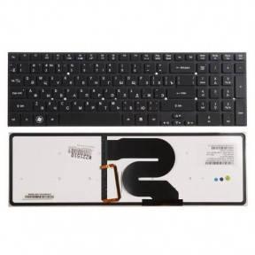 Клавиатура для ноутбука Acer Aspire 8951 (без рамки) с подсветкой черный, фото 2
