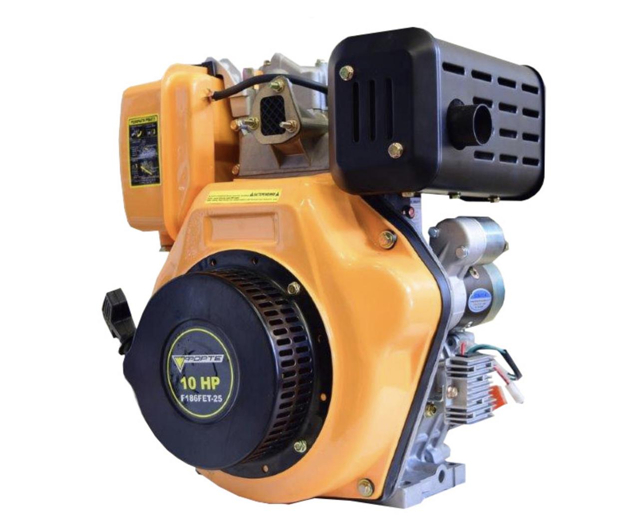 Двигатель дизельный Forte F186FЕT-25