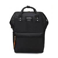 Рюкзак сумка женский городской стильный (черный)