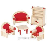 Набор для кукол goki Мебель для гостиной 51952G