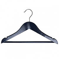 Вешалка подростковая МД для одежды 33,5х16х1,2 см RE09484 темно-синяя