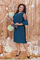 Шикарное женское платье,размеры:48-50,52-54,56-58., фото 1