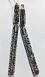 Срібні сережки з ажурним підвісом Бароко, фото 2
