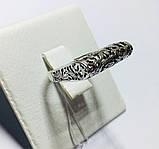 Срібне ажурне колечко Бароко, фото 5
