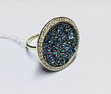Кольцо в серебре с камнями Swarovski Марисабель, фото 2