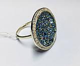 Кольцо в серебре с камнями Swarovski Марисабель, фото 5
