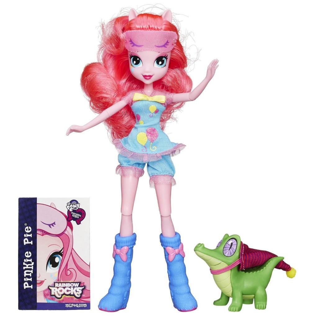 My Little Pony Equestria Girls Rainbow Rocks Pinkie Pie and Gummy Snap