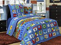 Комплект постельного белья Вилена бязь Полуторный размер Хип-Хоп