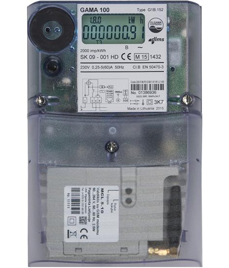 Электросчетчик GAMA 100 G1B 164.220. F3.B2.P4.C310.v1 (100)А