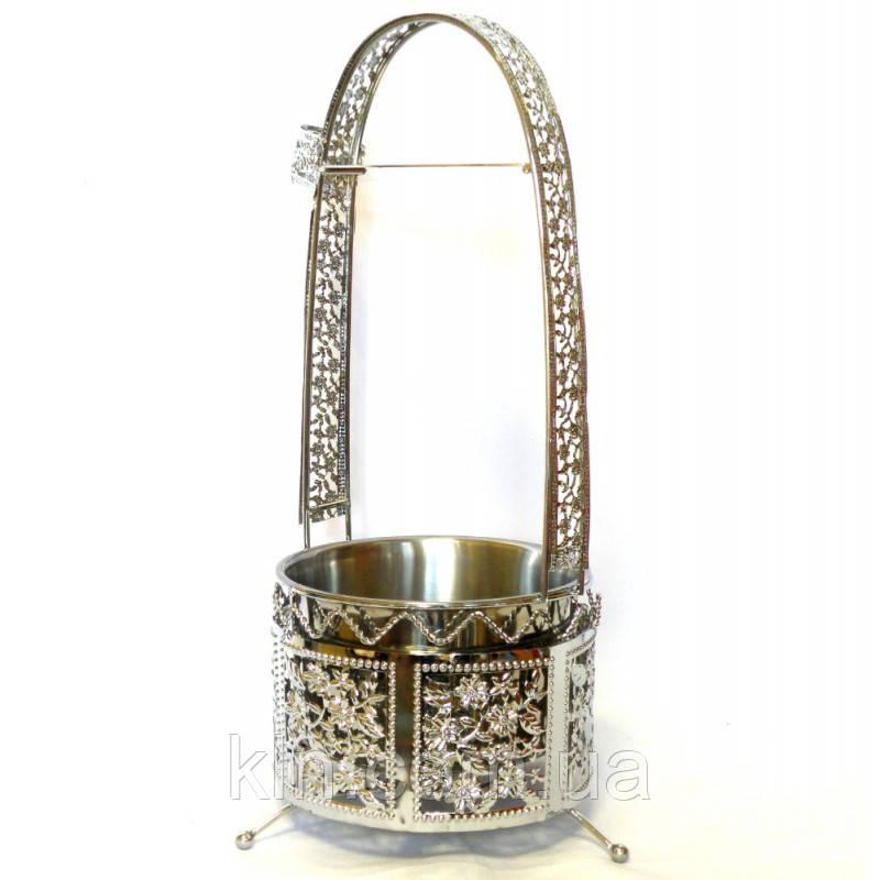 Корзина для угля для кальян красивая в египетском стиле