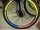 Велосипедные светоотражающие наклейки на обода колес, фото 2