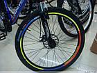 Велосипедные светоотражающие наклейки на обода колес, фото 4