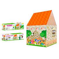 Палатка детская игровая M 6136  домик, Bambi
