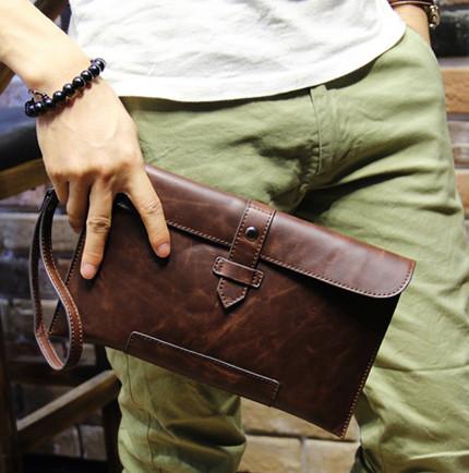 Мужская кожаная сумка. Модель с17