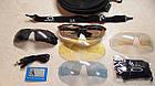 Спортивные очки Oakley 089 POLARIZED с поляризацией и UV400 (5 сменных линз), фото 3